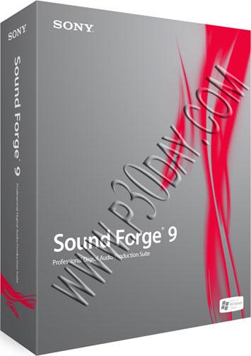 ویرایشگر و ساخت آهنگ Sound Forge 9.0e Build 4.4.01